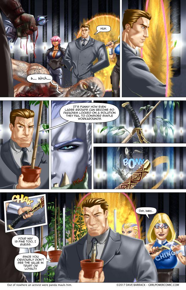 Grrl Power #570 – The bamboomanity!