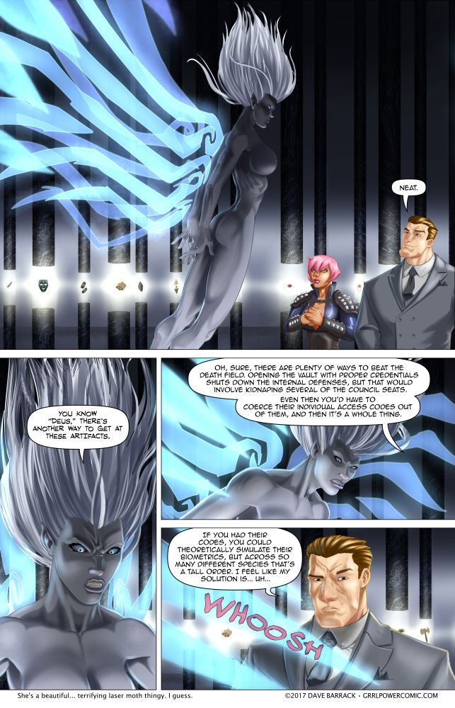 Grrl Power #572 – Sciona revealed! (Cause she's nude, see?)