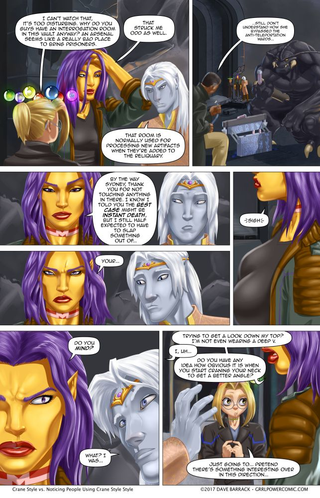 Grrl Power #578 – Crane shot bust