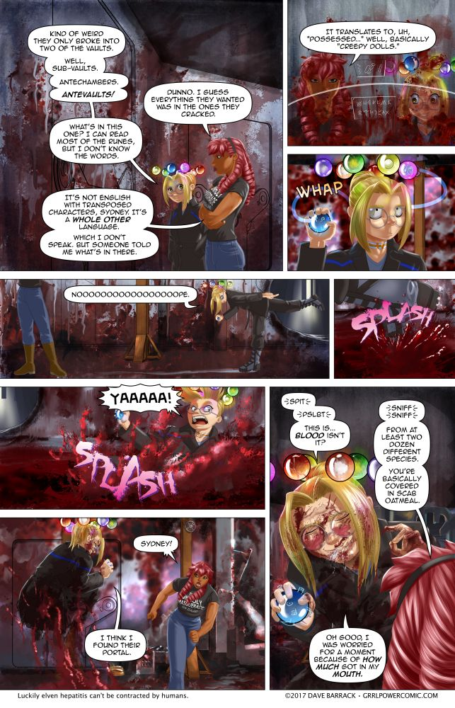 Grrl Power #580 – The glamorous life of the superheroine