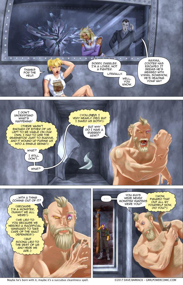 Grrl Power #584 – Escape bear