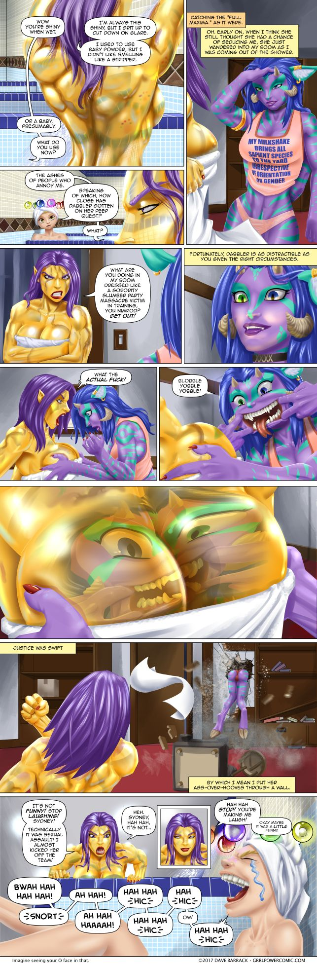 Grrl Power #592 – Funhouse funbags