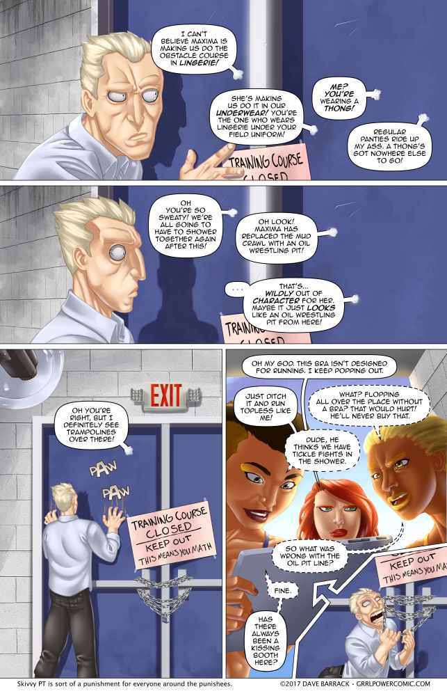 Grrl Power #594 – Well this is just mean
