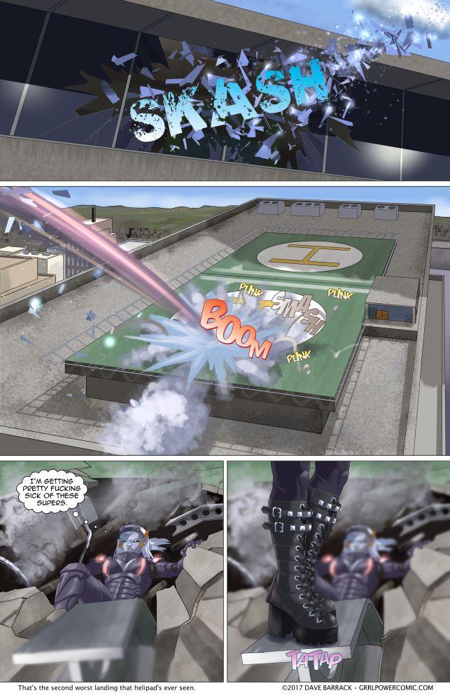 Grrl Power #601 – A slight escalation