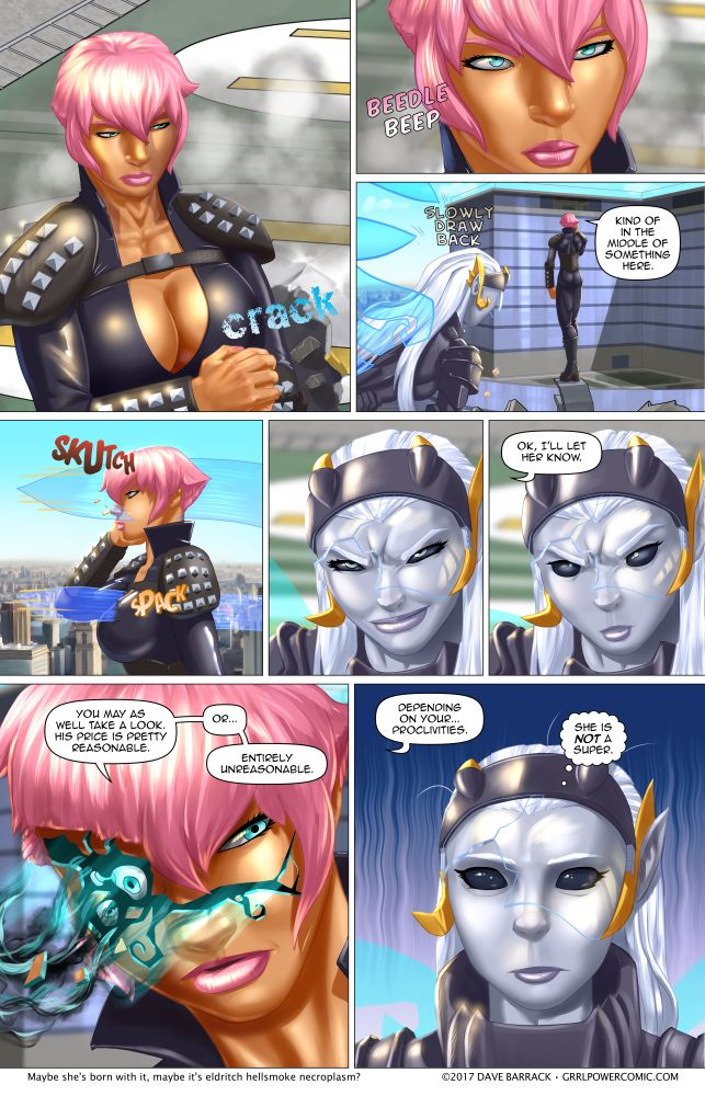 Grrl Power #602 – You've got a little something on your cheek