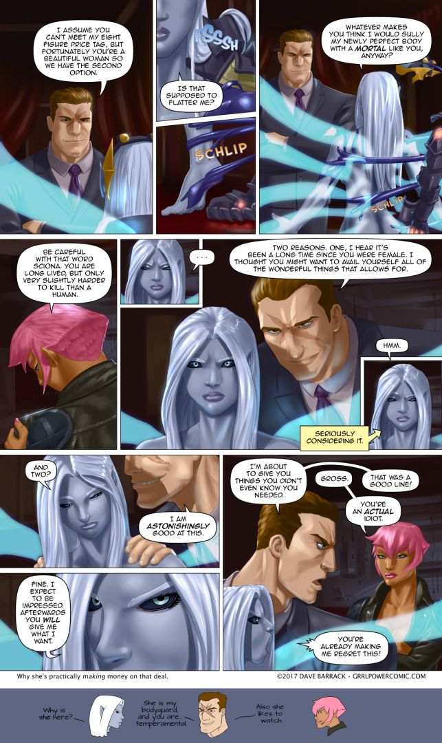 Grrl Power #607 – A magnificent proposal