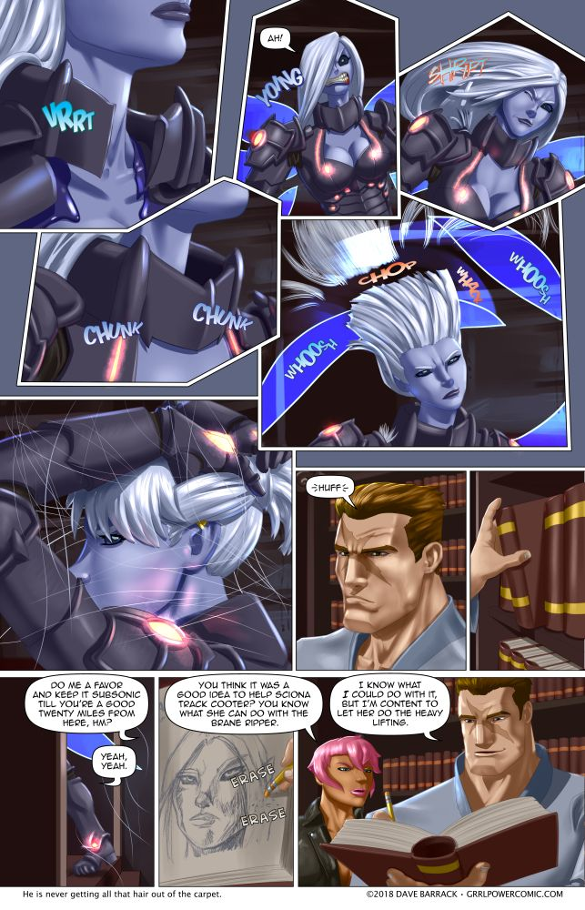 Grrl Power #610 – Just a little off the top