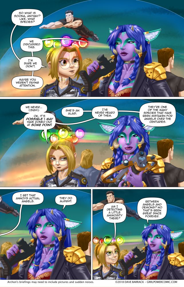 Grrl Power #613 – In flight edutainment