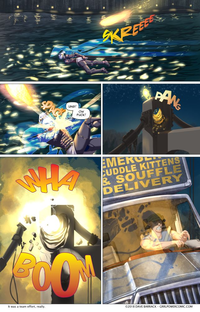 Grrl Power #615 – Whoops
