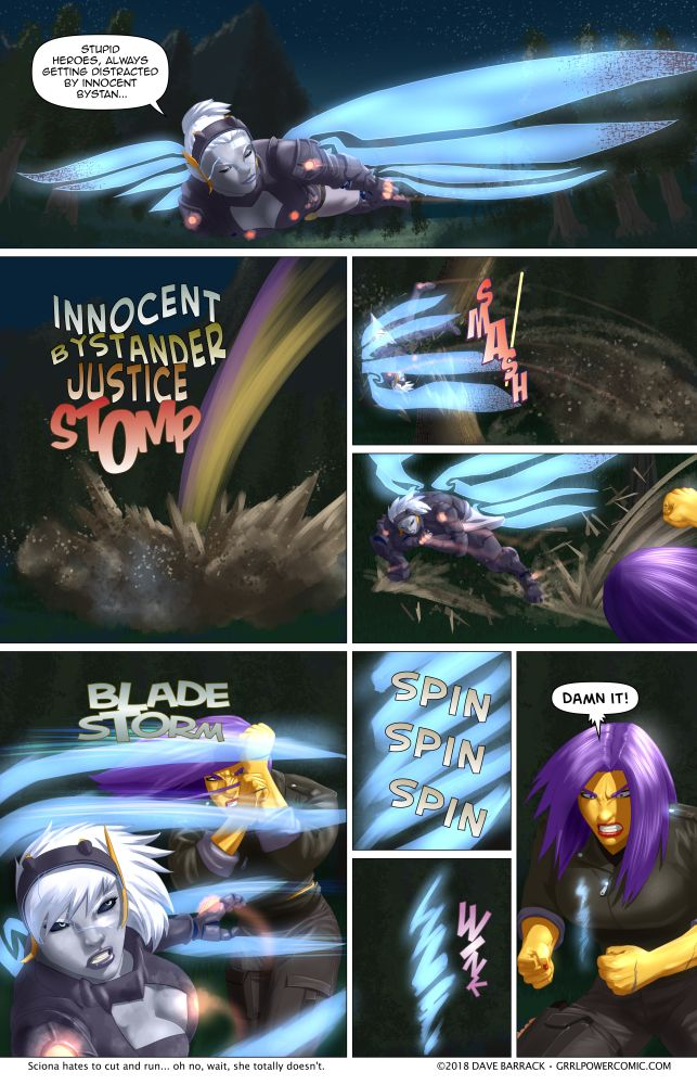 Grrl Power #617 – Meet violent