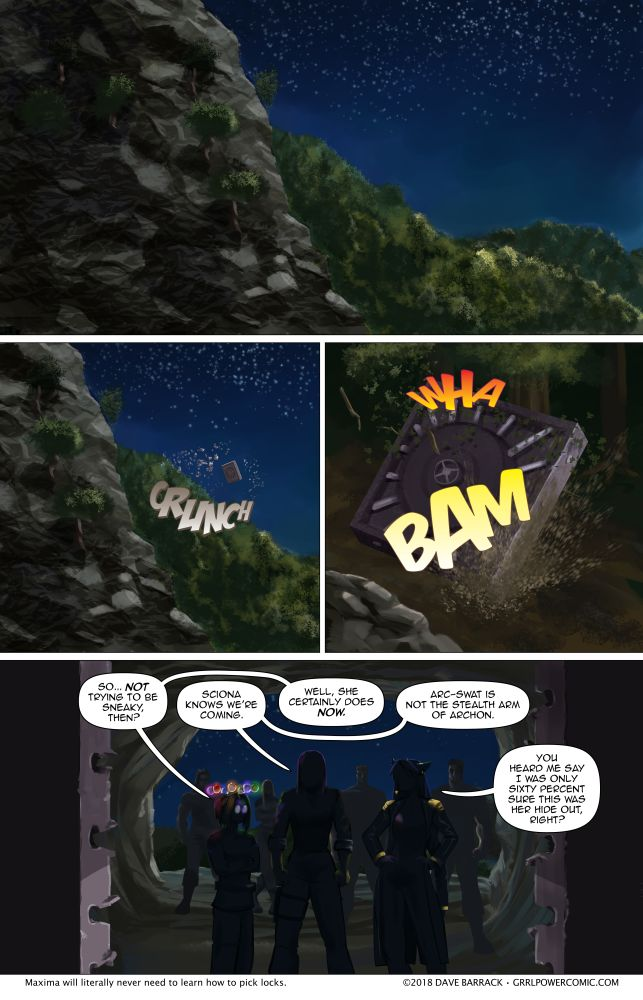 Grrl Power #620 – Shave and a haircut…