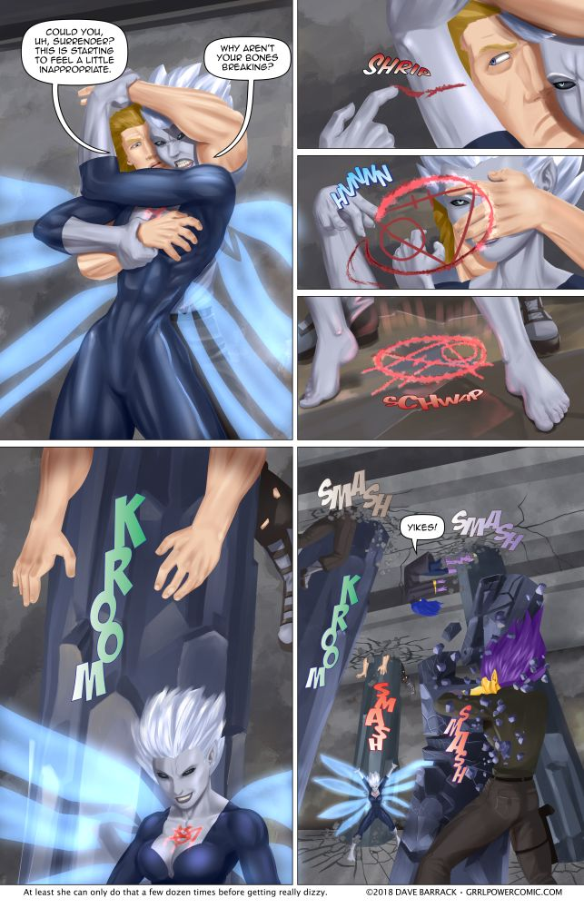Grrl Power #627 – Vulcan 2nd base grip