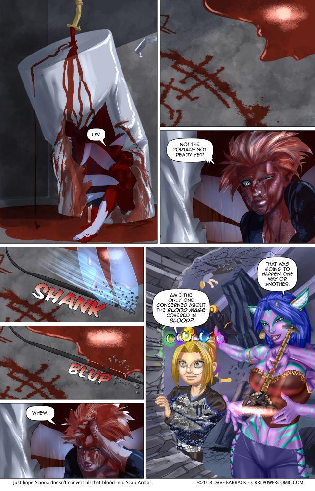 Grrl Power #629 – Dammed blood