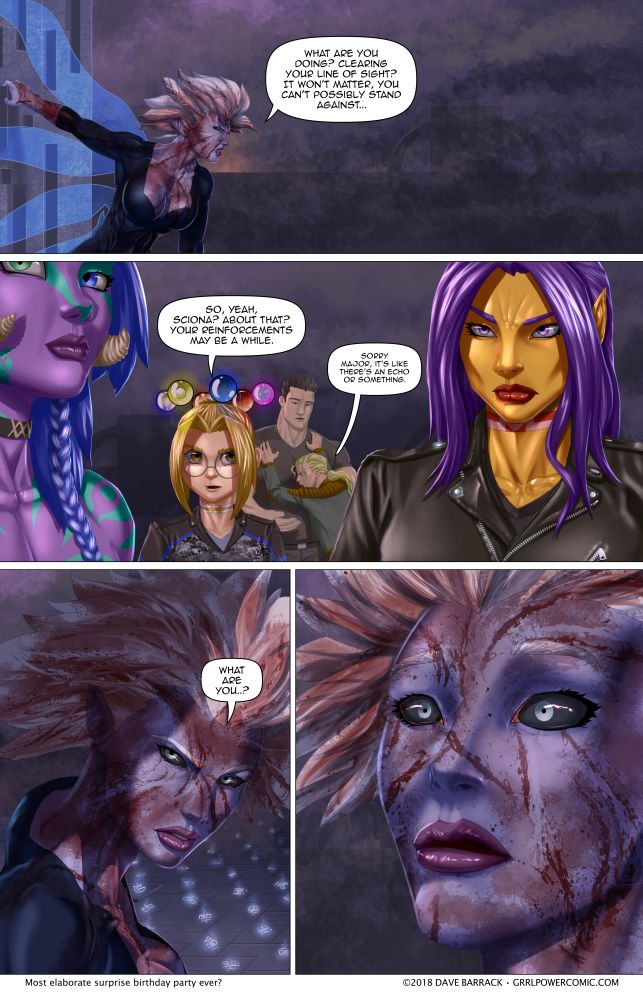 Grrl Power #638 – Most telegraphed reveal in 3…