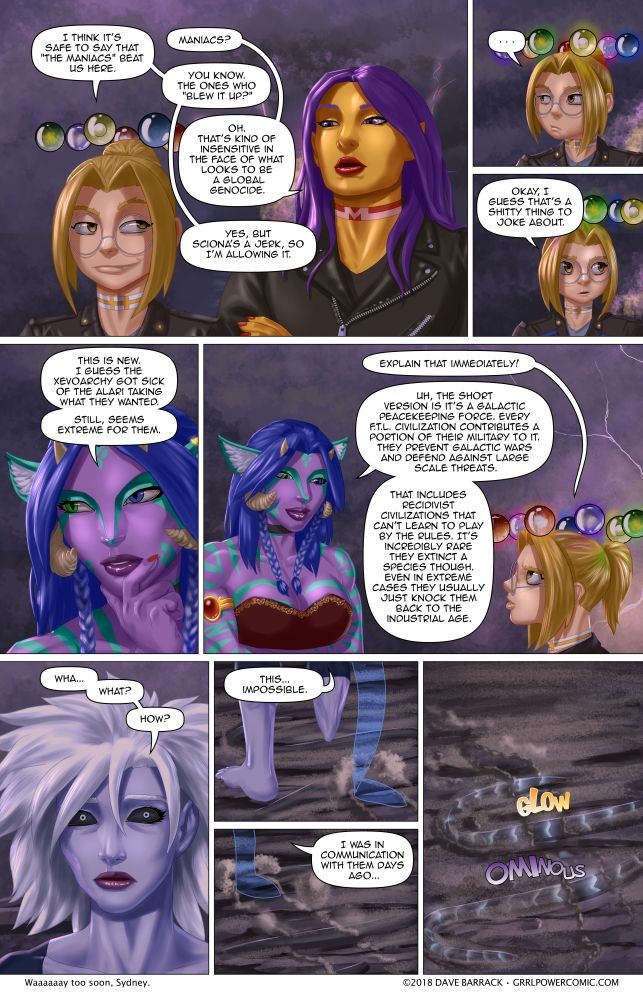 "Grrl Power #640 – Not really a ""Badum-Tssh"" moment"