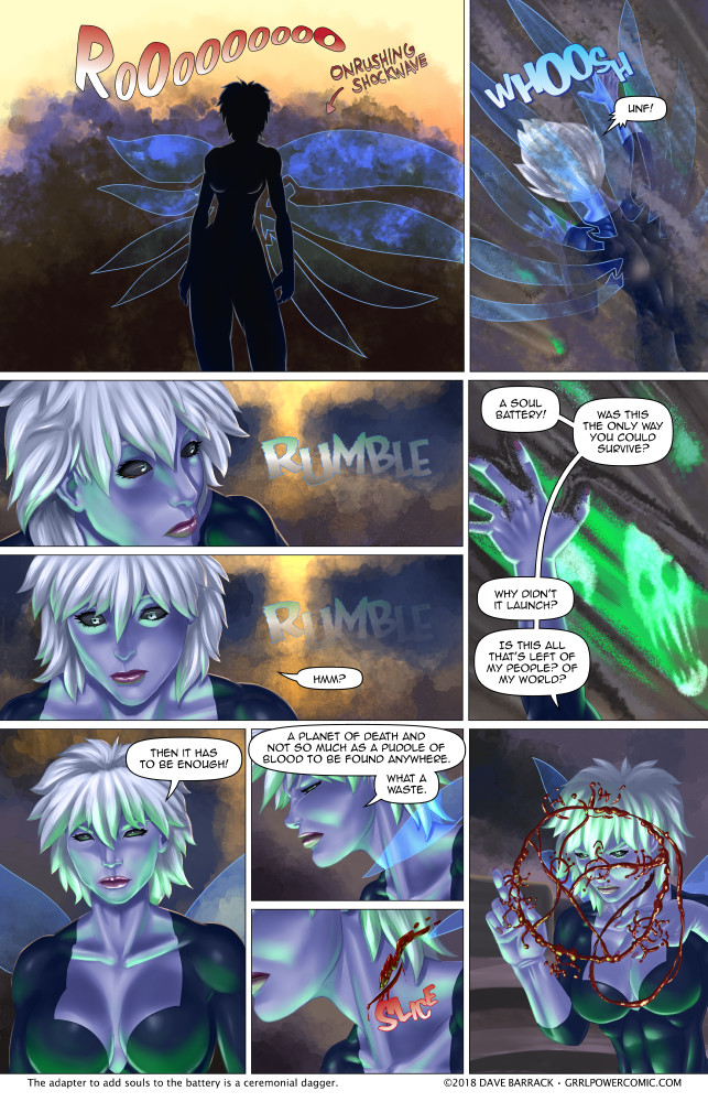 Grrl Power #646 – Soultech support