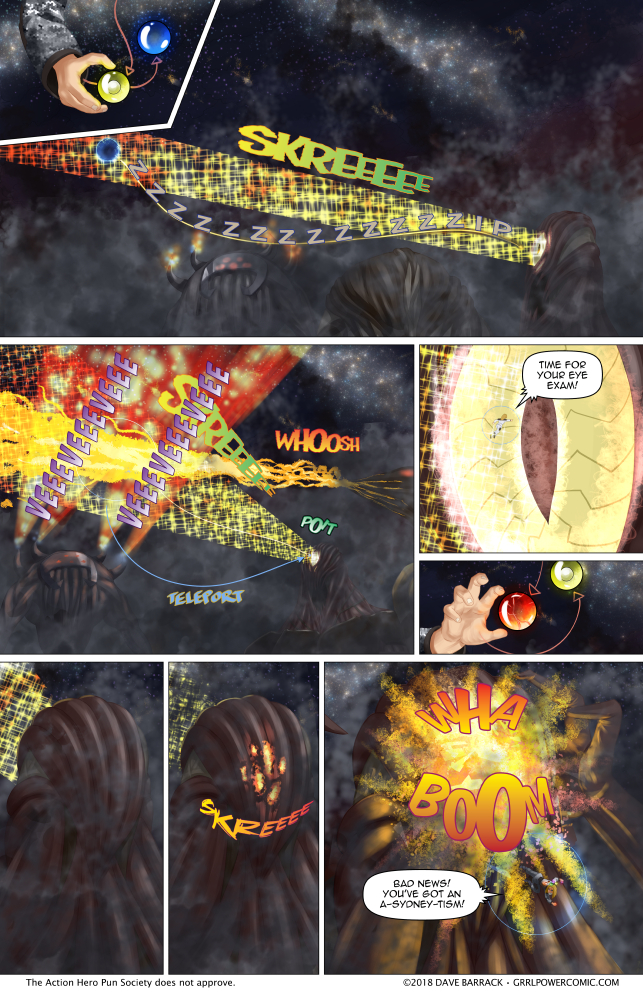 Grrl Power #669 – Particle beam-ik