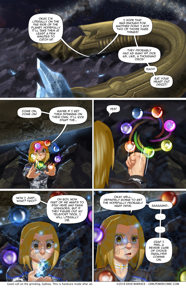 Grrl Power #671 – Level duh(p)