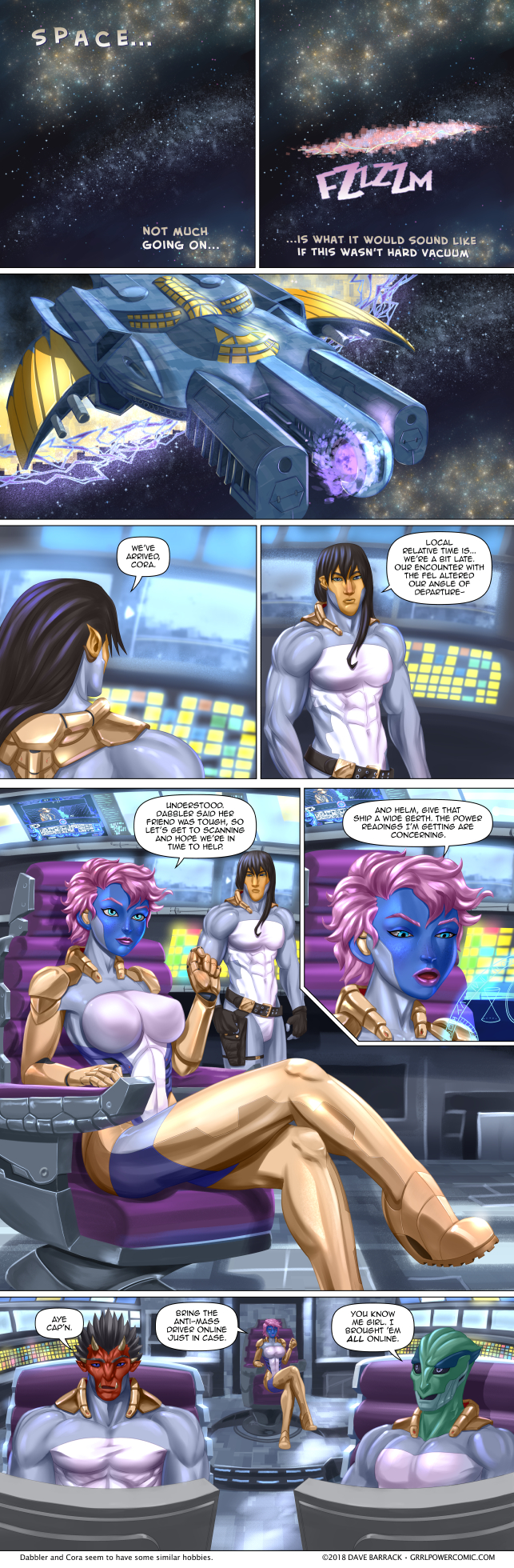Grrl Power #674 – Space cavalry