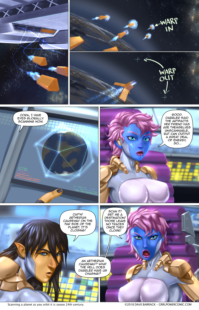 Grrl Power #675 – Hot scanning action