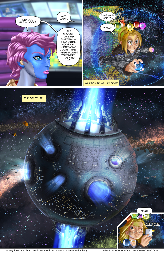 Grrl Power #676 – Double Death Star?