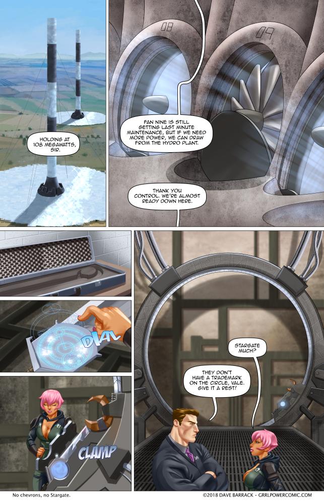 Grrl Power #678 – Grrl Power SG-1
