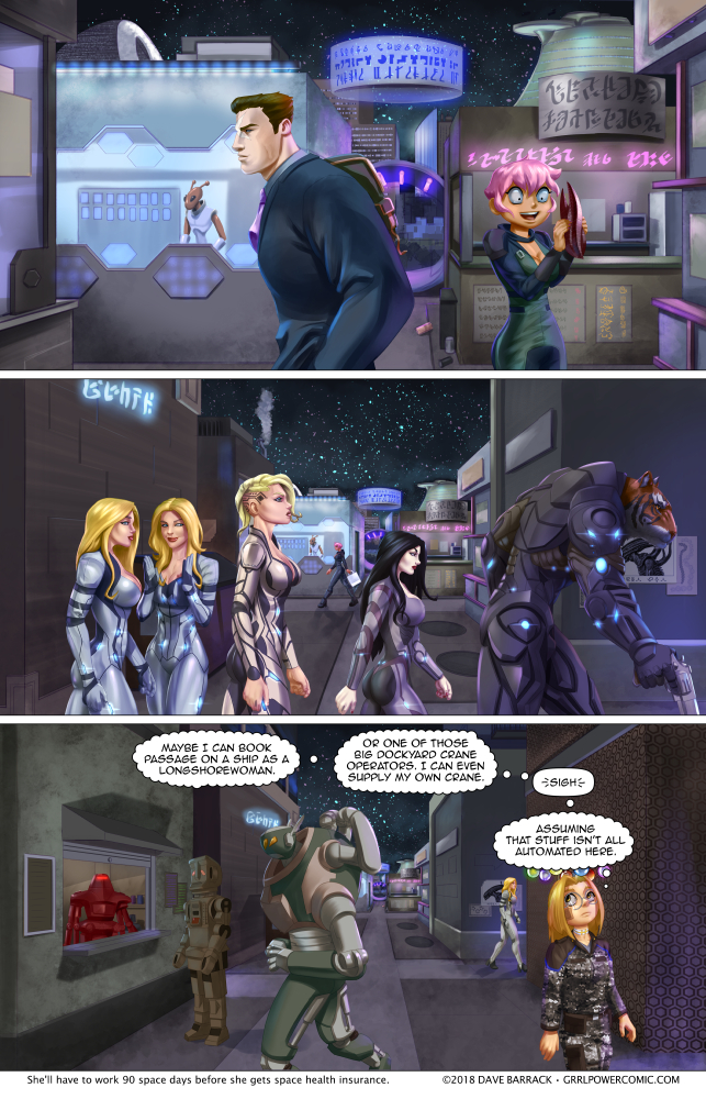 Grrl Power #680 – Fancy almost bumping into you here