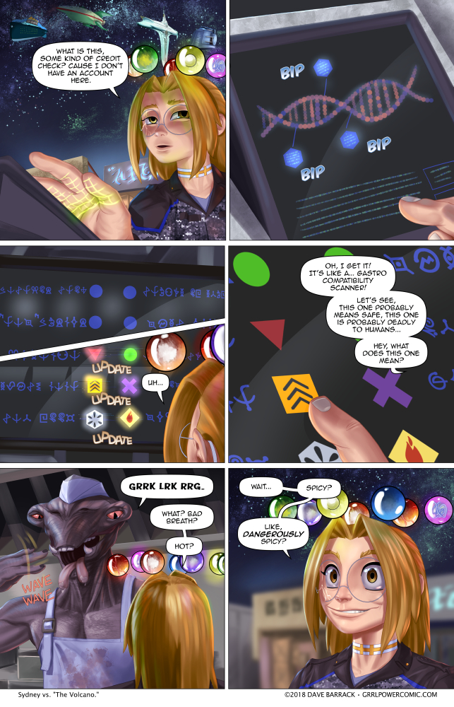 Grrl Power #685 – Things are looking up… the scoville scale