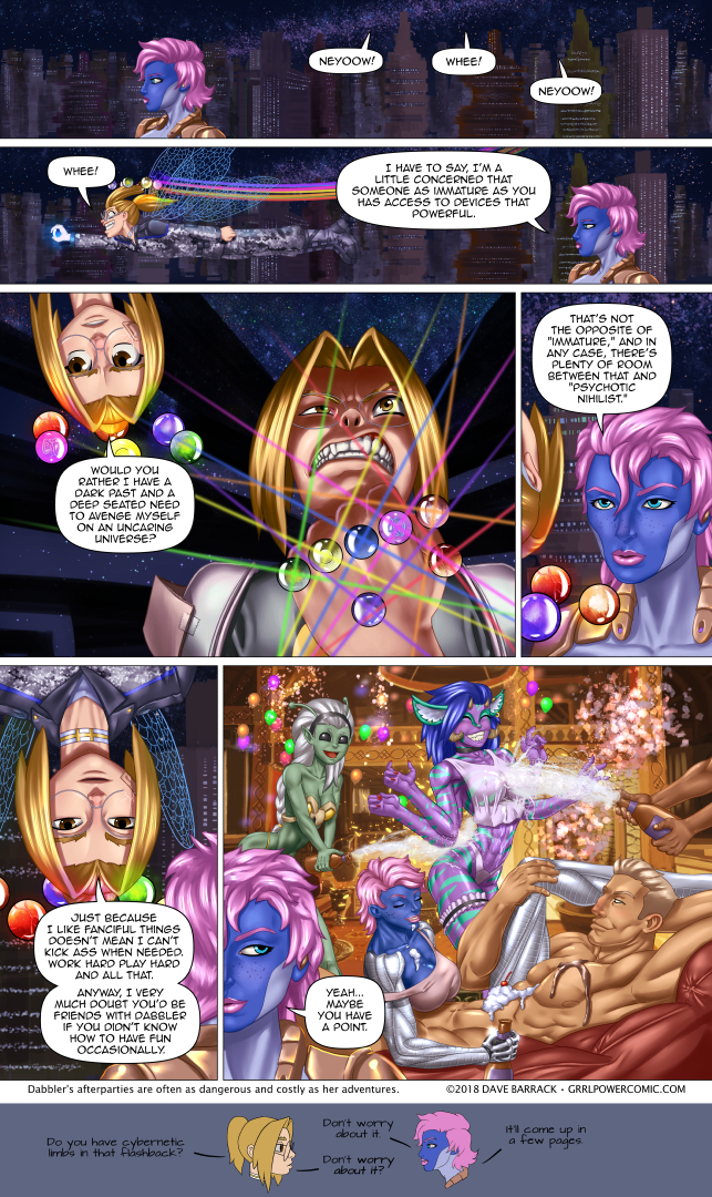 Grrl Power #692 – Common ground