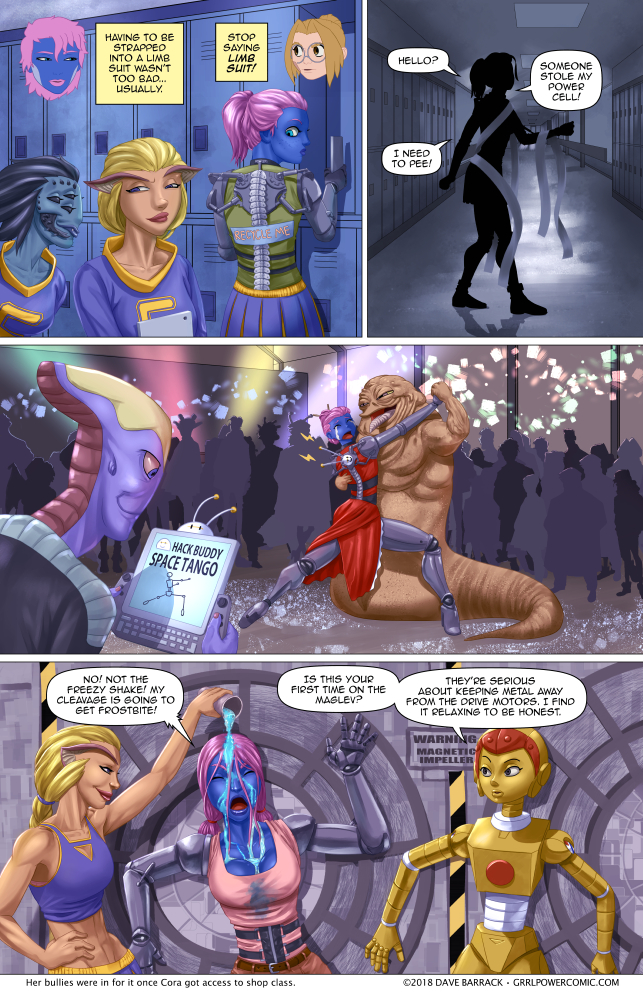 Grrl Power #697 – Space high