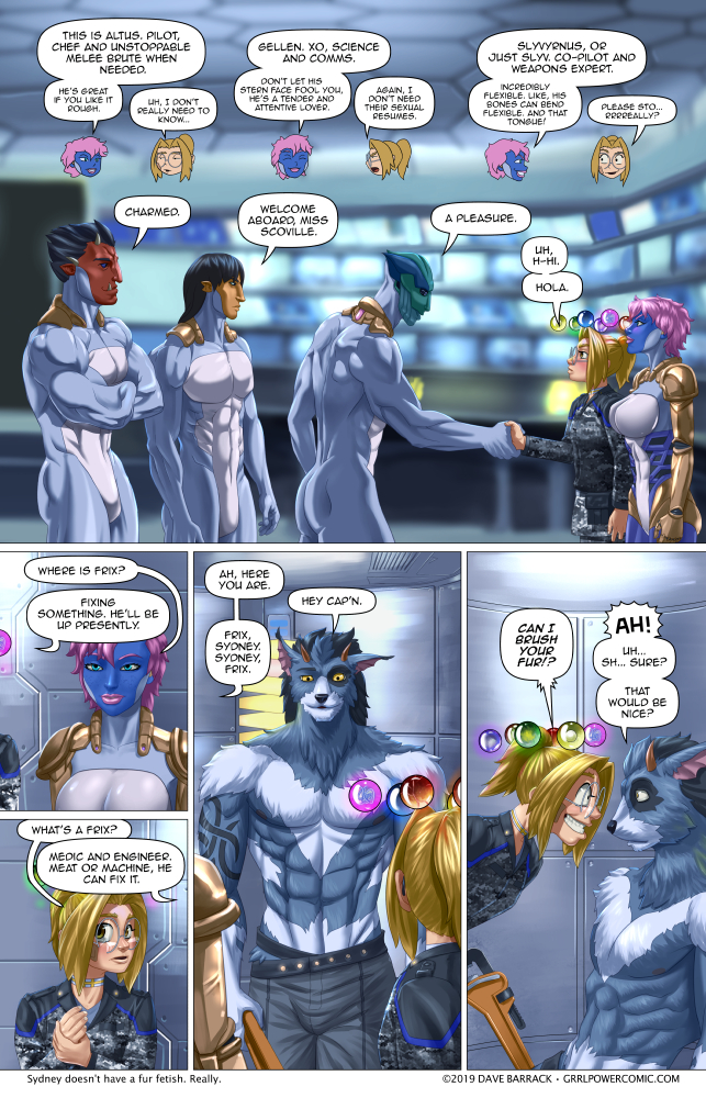 Grrl Power #702 – Meet and groom