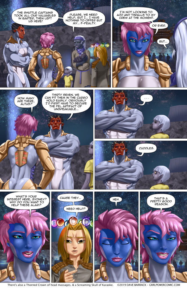 Grrl Power #709 – Para-go-on