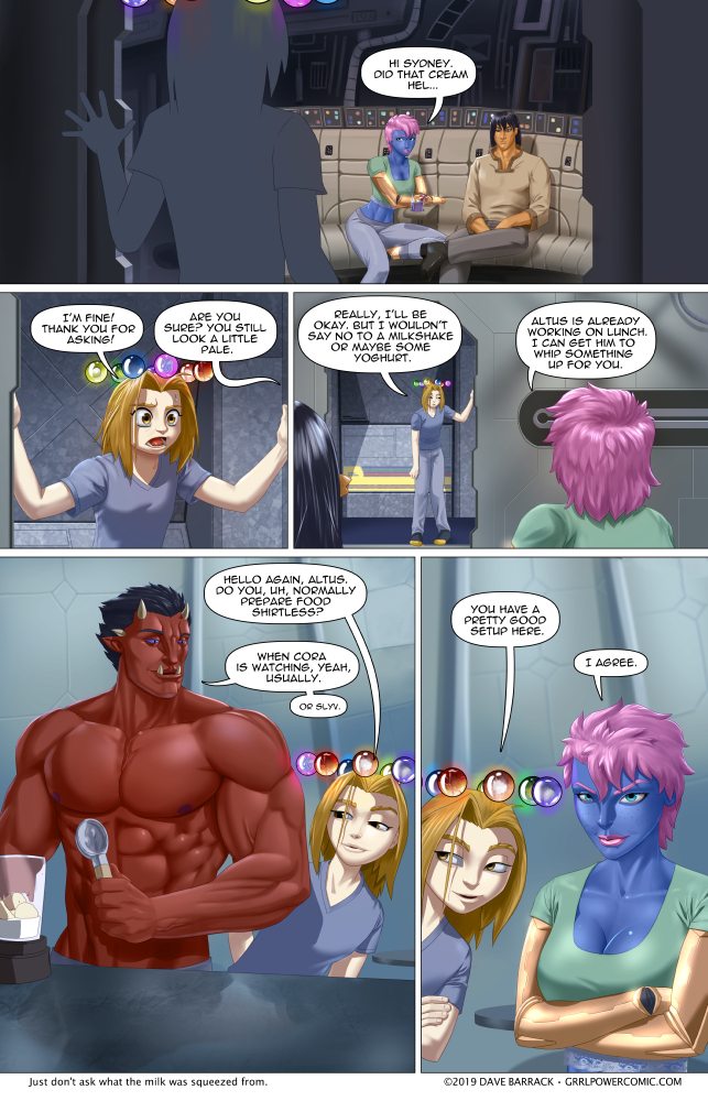 Grrl Power #713 – Bloopberry or malted flerg?