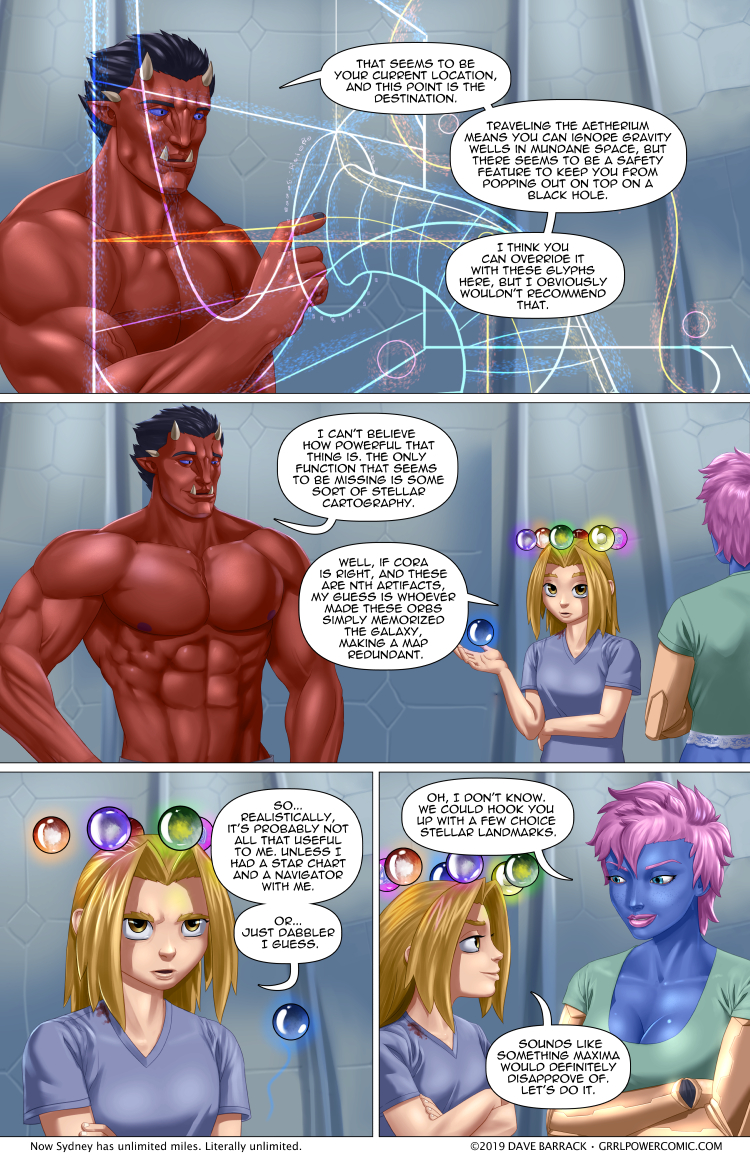 Grrl Power #715 – Wormhole 101