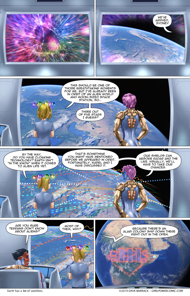 Grrl Power #718 – Mundane majesty