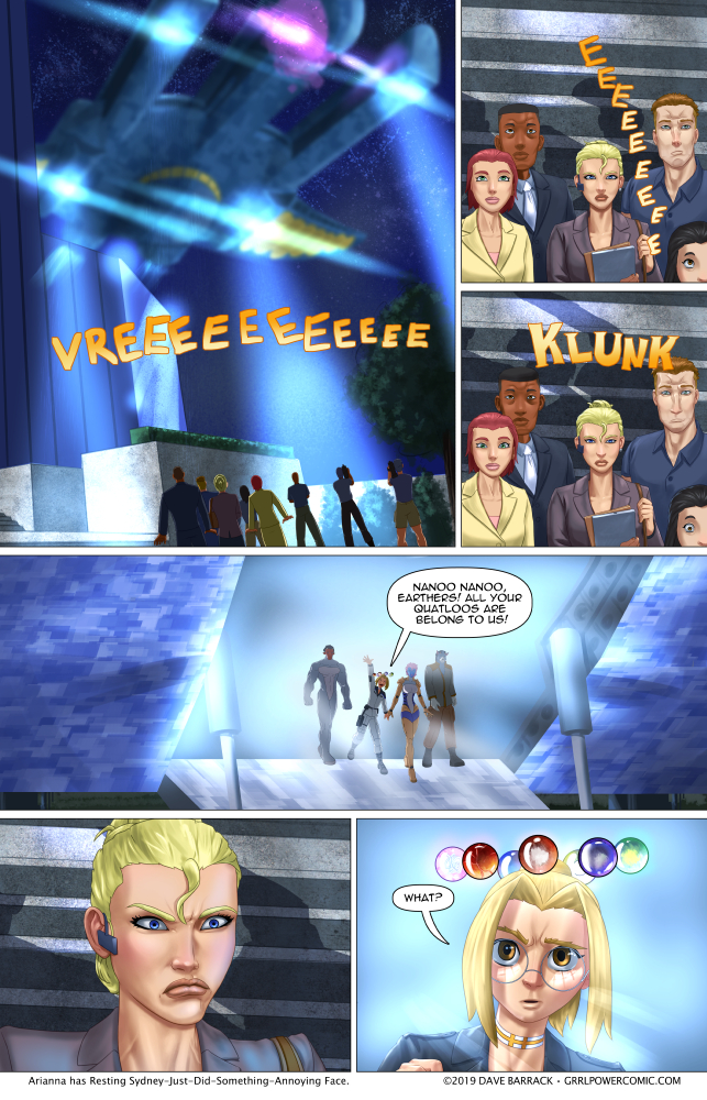 Grrl Power #721 – A historic disembarkation