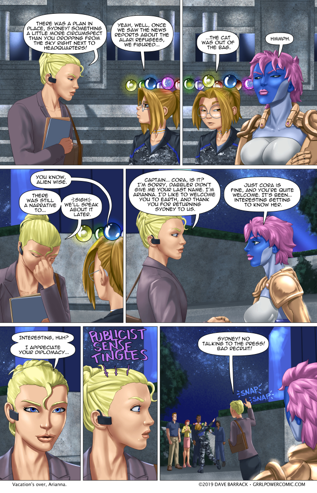 Grrl Power #722 – It's like wrangling a super powered cat with ADHD