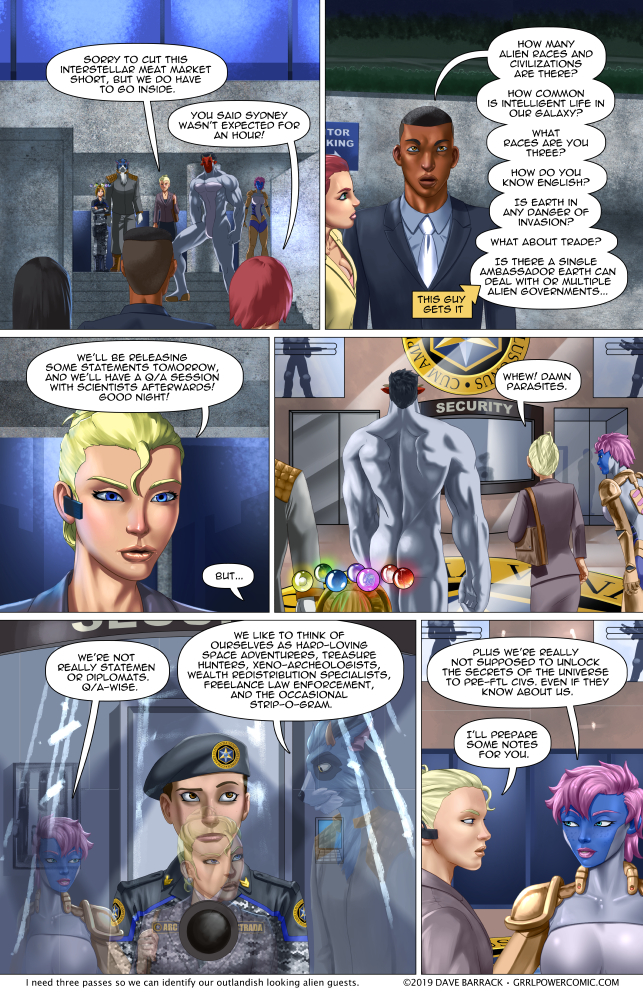 Grrl Power #725 – Phenomenal cosmic knowledge…