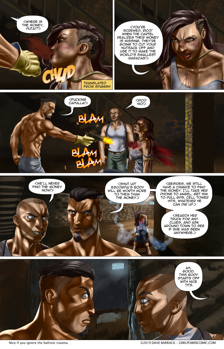 Grrl Power #743 – Introducing Escorpia… And she's dead