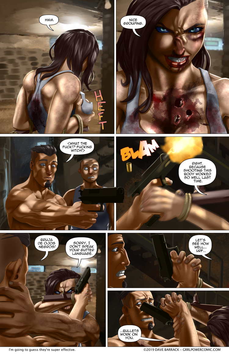 Grrl Power #744 – Recycling