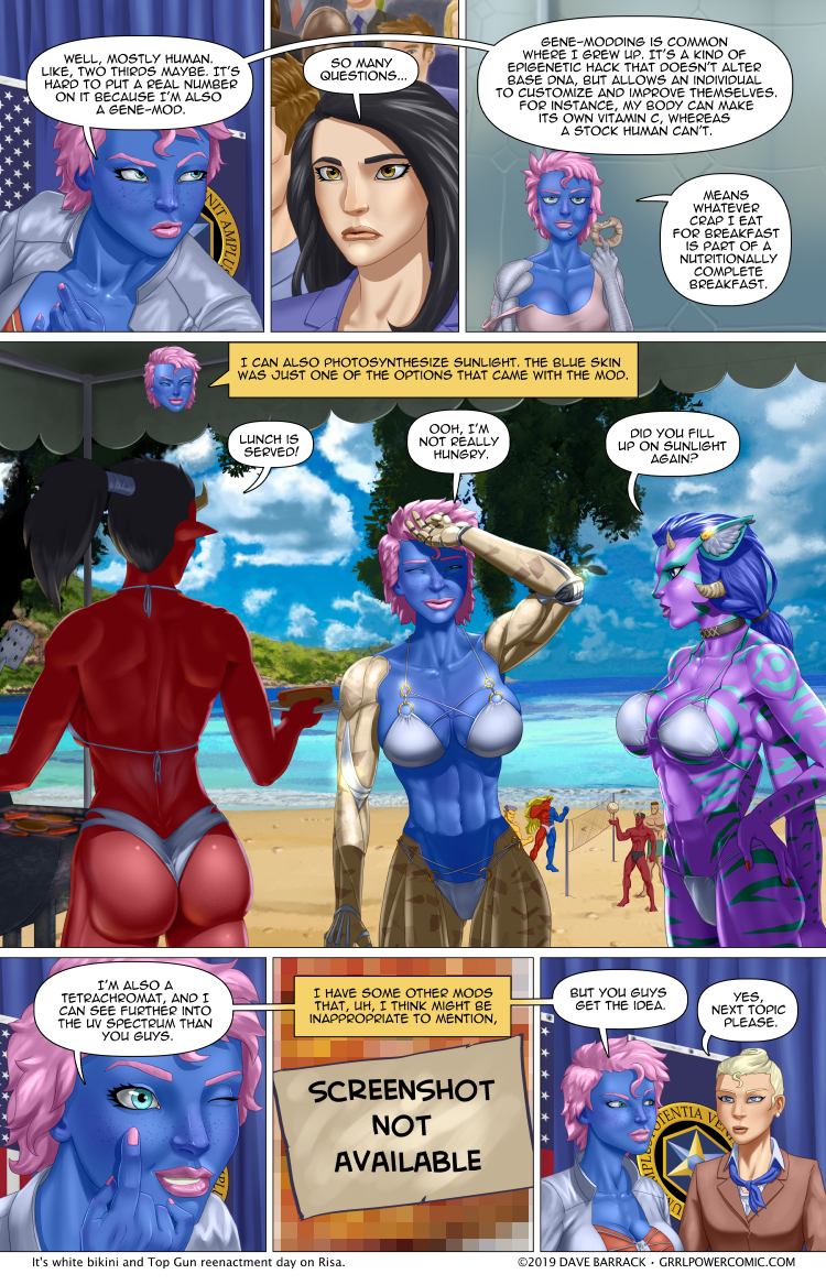 Grrl Power #756 – Human plus