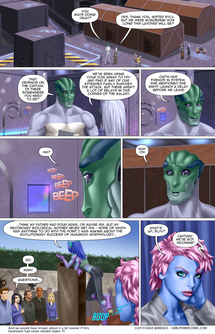 Grrl Power #762 – This presser is about to get a lot more exciting