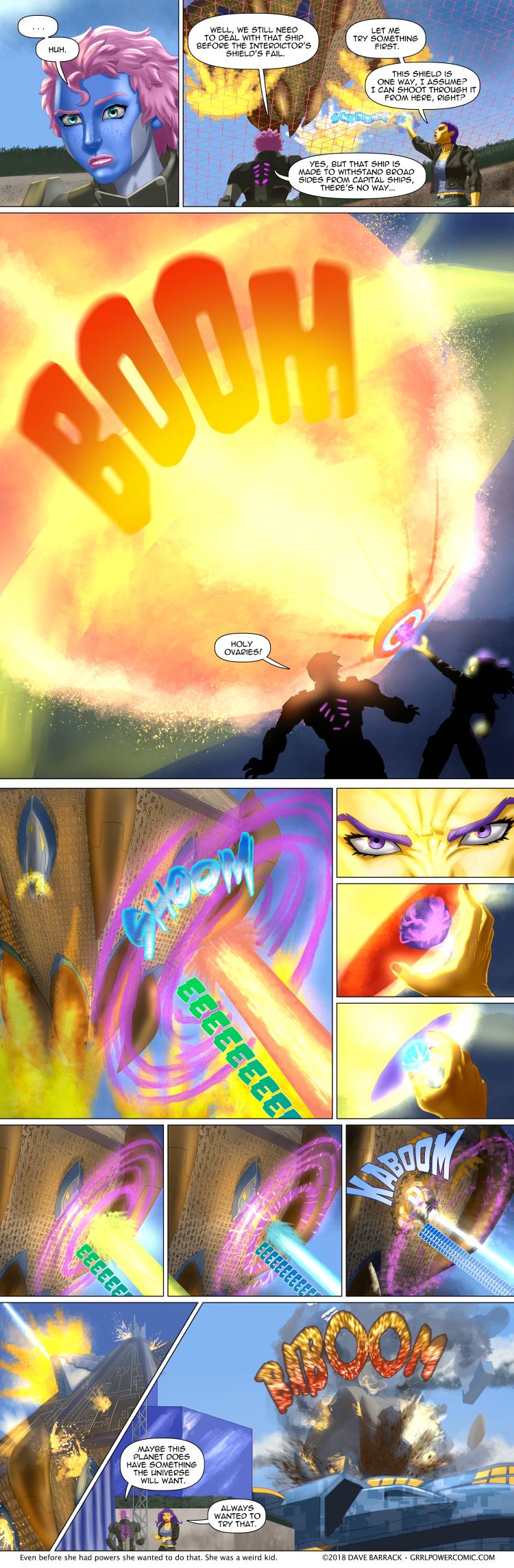 Grrl Power #767 – Maxima effort