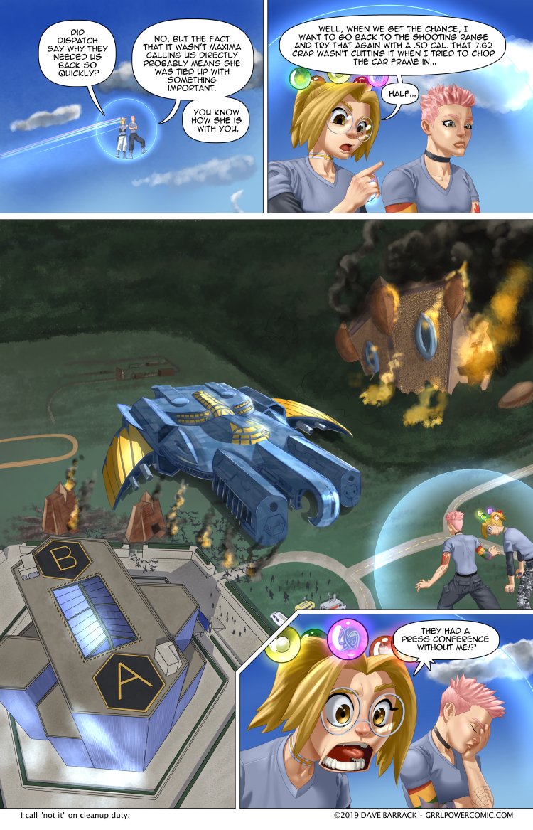 Grrl Power #768 – Late to the party