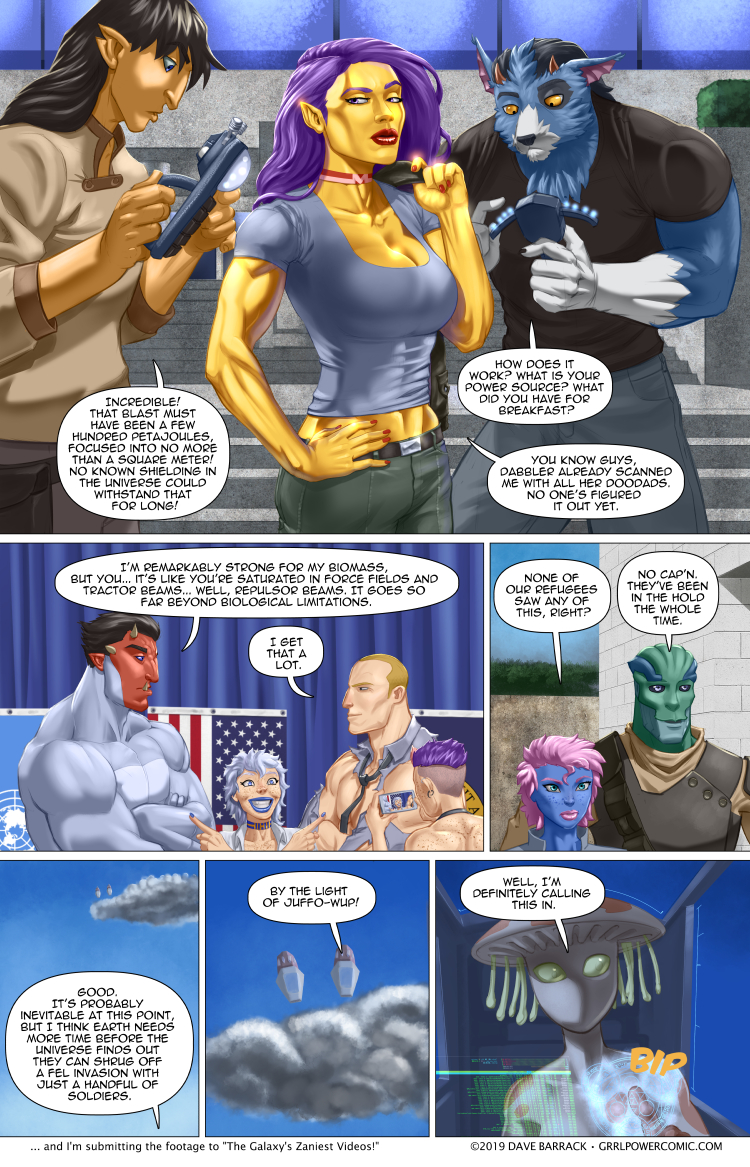 Grrl Power #769 – Incoming (eventually)