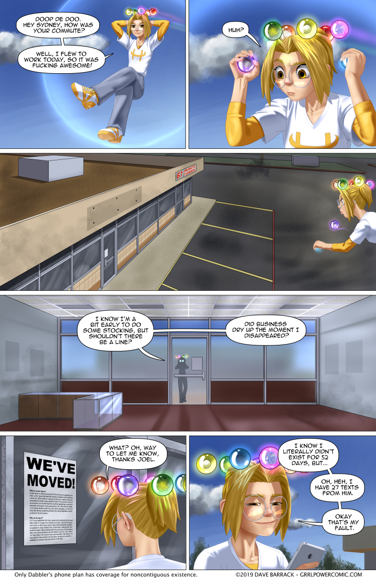 Grrl Power #778 – Moving on up