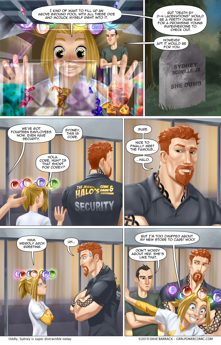 Grrl Power #782 – Death by die