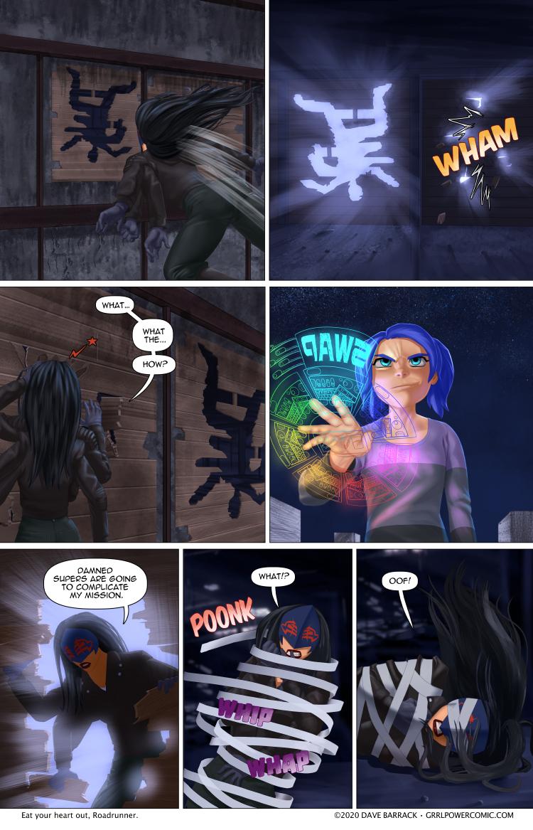 Grrl Power #809 – Vex a vigilante