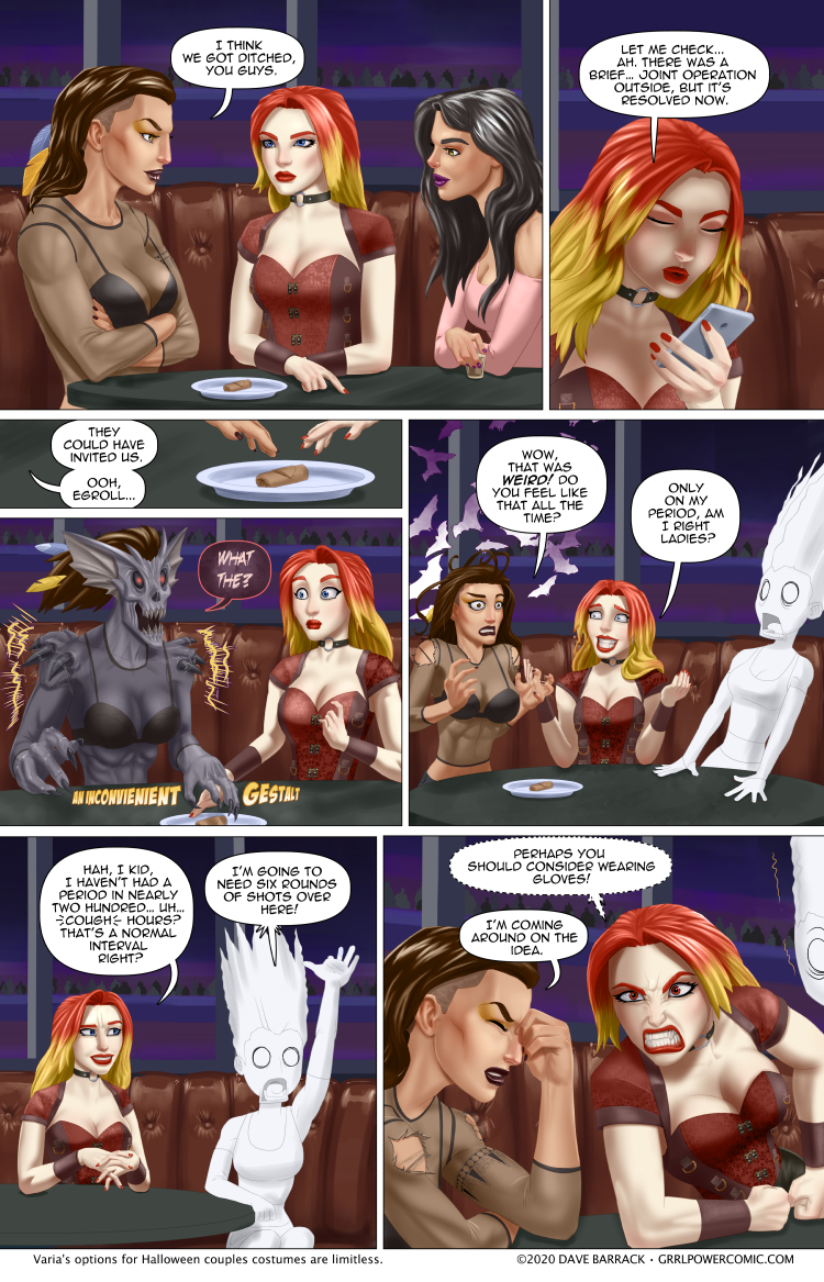 Grrl Power #816 – Horrifying demon monsters are only skin deep