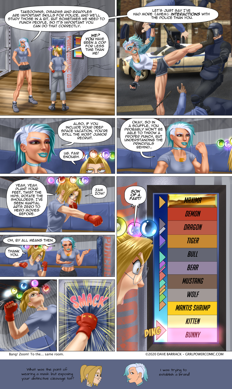 Grrl Power #824 – Fist of the Sigma Octantis